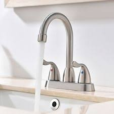 corrego kitchen faucet corrego lucca series lavatory faucet brushed stainless ebay