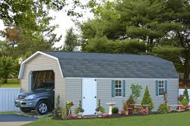 buy economy single car garages in wood or vinyl see prices one car garage with plans