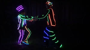 led light up costume diy burning man halloween costume youtube