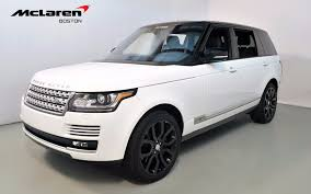 white land rover 2016 land rover range rover supercharged for sale in norwell ma