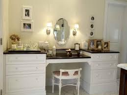 Creativity Bathroom Vanities With Makeup Table Vanity Ivory - Bathroom vanity tables