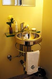 powder room color schemes decorating with sunny yellow paint