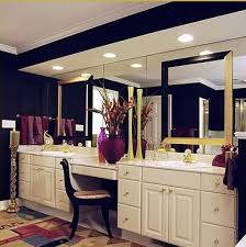 Remove Mirror Glued To Wall Before U0026 After Bathroom Mirror Makeovers Hooked On Houses