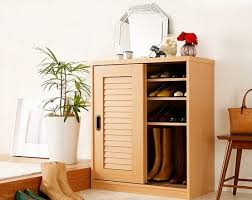 sliding door shoe cabinet shoe cabinet with sliding doors natural color home interiors