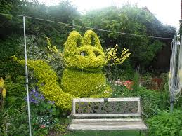 Topiary Dog Open Gardens And A Rethink Not Just Greenfingers