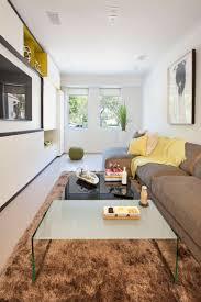 arrange furniture in a small rectangular living room