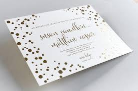 foil wedding invitations gold foil wedding invitations elegante press design