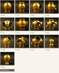 Banister Fittings Brass Ball Fittings B U0026l Brassworks Inc
