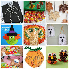 Halloween Craft Toddlers by Fall And Halloween Crafts For Kids Mama Momtourage