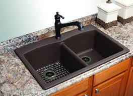 black kitchen sink faucets black granite sink and faucet and photos madlonsbigbear com