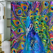Amazon Shower Curtains Peacock Shower Curtain Amazon The Peacock Shower Curtain