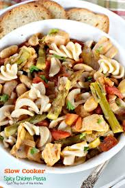 slow cooker spicy chicken pasta can u0027t stay out of the kitchen