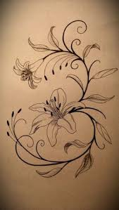 lily of the valley flower tattoo designs of some lily of the