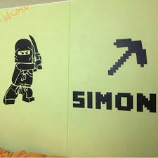 aliexpress com buy minecraft custom kids name removable vinyl aliexpress com buy minecraft custom kids name removable vinyl wall sticker decor from reliable sticker machine suppliers on aooins store