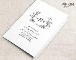 Wedding Ceremony Program Template Word Ceremony Program Template Printable Wedding Programs
