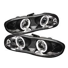 02 camaro headlights spyder auto chevy camaro 98 02 projector headlights ccfl halo