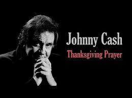 johnny thanksgiving prayer