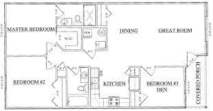 3 Bedroom Villa Floor Plans by Villas For Rent Jefferson Street Villas