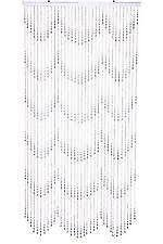 Beaded Curtains With Pictures Beaded Curtains Bamboo Crystal And Metal Ebay