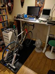 Diy Sit Stand Desk by The Podium Trainer Desk In Depth Review Dc Rainmaker