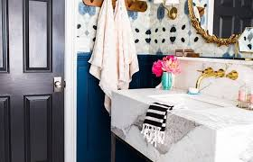 wallpaper ideas for bathrooms best small bathroom wallpaper ideas on half regarding for bathrooms