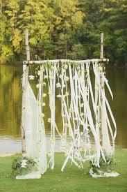 green alabama garden wedding outdoor wedding altars wooden
