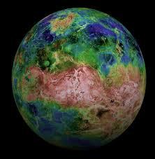 Venus Map Venus