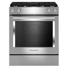 Ge Downdraft Gas Cooktop Kitchenaid 30 In 6 4 Cu Ft Downdraft Slide In Dual Fuel Range