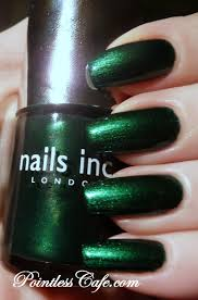 nails inc emerald street and bow street swatches and review