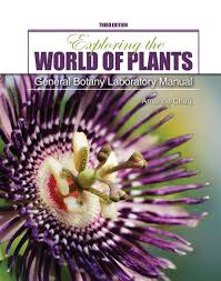 exploring the world of plants general botany laboratory manual