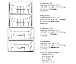 sectional sofa dimensions standard best home furniture decoration