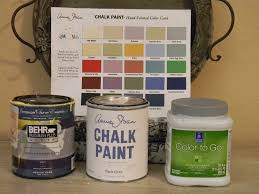 annie sloan chalk paint vs latex paint exact ascp colors in behr