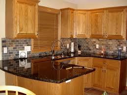 kitchen backsplash ideas with oak cabinets kitchen backsplash ideas for light oak cabinets smith design