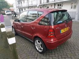 2001 mercedes a160 a class avant garde 1 6 manual petrol low