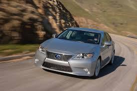 lexus hybrid list lexus es 300h makes top 10 fuel efficient vehicle list