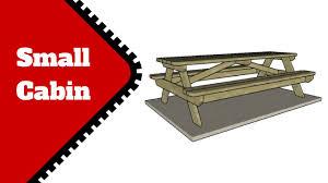 8 foot picnic table plans 8 foot picnic table plans youtube