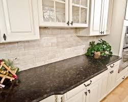 kitchen excellent kitchen backsplash white cabinets brown