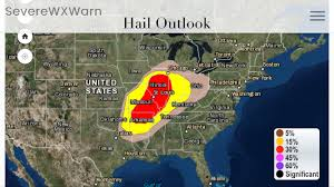 Utah Weather Map by Severe Weather Likely Today Across Indiana Illinois Missouri