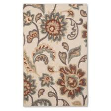 Brown Paisley Rug Maples Rugs Paisley Floral Accent Rug