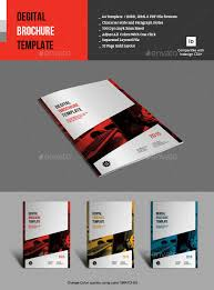 one page brochure template 17 fresh digital brochure templates free psd vector eps png