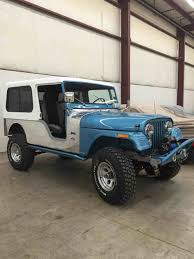 jeep mj build u2013 the cj jeep scrambler hardtop constructed of rugged fiberglass to