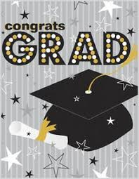 greeting card graduation grad hat grey stripe