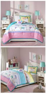 girls cowgirl bedding pink blue playful puppy dog bedding for girls twin or full queen