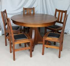 Antique Dining Room Table Mission Oak Antique Dining Set U2013 Stickley Brothers Arts And