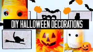 making homemade halloween decorations 9607