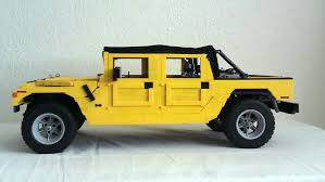 humvee side view lego ideas hummer h1 soft top