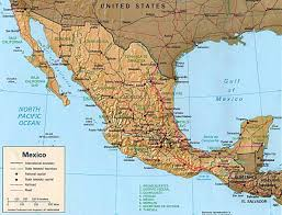 Driving Maps Download Driving Map Of Mexico Major Tourist Attractions Maps