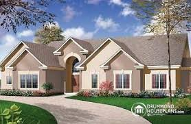 One Story House Plans With Bonus Room One Story House Plans U0026 One Level House Plans From