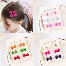 barrettes hair 6pcs set new lovely hair candy colors kids
