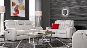 ultra modern 3pc living room set leather paris white living room sets living room suites furniture collections